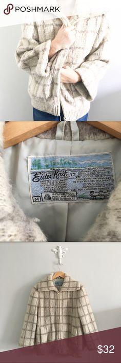 coming soon vintage plaid sweater jacket Coming soon! •1024160068• Vintage Jackets & Coats