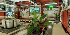 ArtStation - Lobby, Sam Juarez