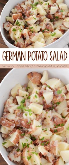 If potato salad could be life changing, this German potato salad would be it!