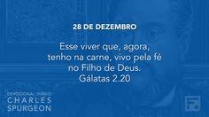 28 de dezembro  - Devocional Diário CHARLES SPURGEON #362