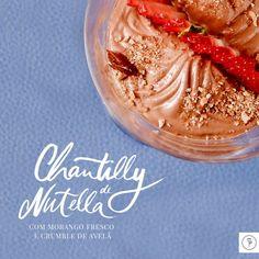 A dica de hoje é uma receita deliciosa do querido Chef de Cozinha Wesley Moralles, com nutella, uma delicia!