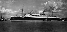 Bremen: A New Wave - After losing most of its ocean liner fleet in World War I, by the late 1920s Norddeutscher Lloyd was once again ready to become a major player on the North Atlantic. The company's first post war superliner would be Bremen (1929) - . She was destroyed by fire in 1941 in a blaze apparently set by a disgruntled crewmember.