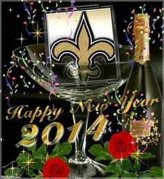 Have a Happy New Year Saints Fans