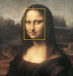 Mona Lisa's Face is a Golden Rectangle