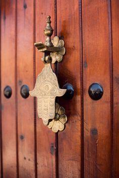 hamsa knocker   door hardware