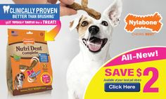Tri Cities On A Dime: GET A $1.00 COUPON ON NYLABONE NUTRI DENT 3-POINT ...