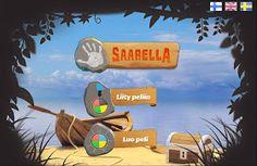 Ekaluokkaiset ja tietotekniikka: Saarella-peli
