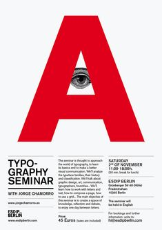 Seminario de Tipografía — Jorge Chamorro