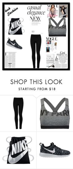 """8."" by sbarilchuk ❤ liked on Polyvore featuring Wolford, Ivy Park, NIKE, Whiteley and Nicki Minaj"