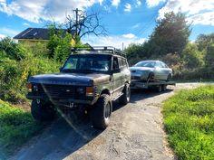 #classic #offroad #rides #rangeroverclassic #300tdi #audi Range Rover Classic, Offroad, Audi, Car, Automobile, Off Road, Autos, Cars