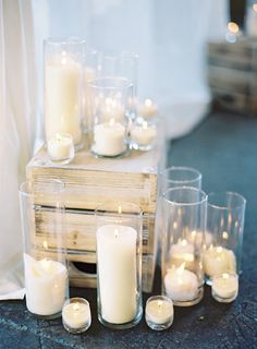 all white ceremony idea | odalys mendez photography | image via: ruffled blog