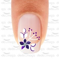 Decoración sencilla Purple Nail Designs, Pretty Nail Designs, Diy Nail Designs, Nail Designs Spring, Finger Nail Art, Toe Nail Art, Fingernail Designs, Purple Nails, Nail Decorations