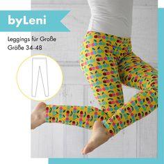 byLeni - das byGraziela Leggings-Schnittmuster als FREEBIE. Im übersichtlichen Ebook erklären wir euch Schritt für Schritt den Weg zu eurer Lieblings-Leggings.