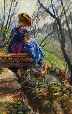 Ferdinand Max Bredt (1868-1921) German Painter