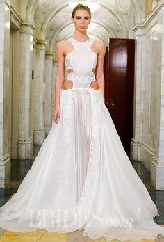 Victoria Kyriakides Wedding Dresses - Spring 2016 - Bridal Runway Shows - Brides.com   Brides.com