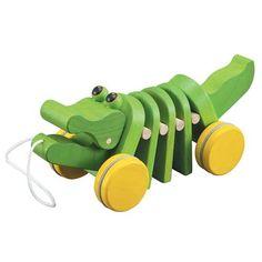 Plan Toys - Dancing Alligator - Pull Toy