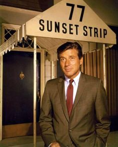 Sixties | Efrem Zimbalist Jr, star in 77 Sunset Strip