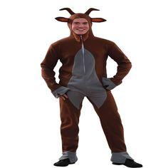 DisfracesMimo, disfraz de macho cabrio para adulto talla m/l. Le harás la competencia a la vaca pinta en Carnavales. Escápate de la granja para ir corriendo a las fiestas populares y despedidas.Este disfraz es ideal para tus fiestas temáticas de disfraces de animales para hombre adultos