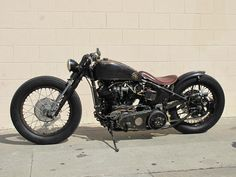 Someday I will drive down the West Coast on this Harley custom made 93' knucklehead motor. WHAT A BEAUTY!