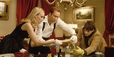"Diane Kruger, Nicolas Cage, and Justin Bartha portray the characters of Dr Abigail Chase, Benjamin Gates, and Riley Poole respectively in the movie ""National Treasure"". Disney Movie Quotes, Best Disney Movies, Great Movies, Amazing Movies, Disney Stuff, Love Movie, Movie Tv, Movies Showing, Movies And Tv Shows"