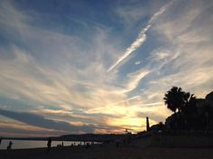 Gorgeous late summer #sunset over #Nice