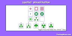 Can your child solve this practice spatial visualization puzzle for the #NNAT?