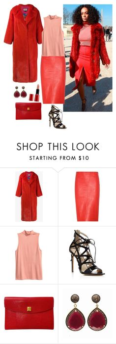 """""""Style muse Solange Knowels"""" by ms-hinds ❤ liked on Polyvore featuring Gucci, STOULS, Alejandro Ingelmo, Hermès, Blue Candy Jewelry and Giorgio Armani"""