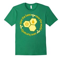 Save The Bees Save The World Save Humanity Shirt, Support the Cause All Hives Matter Our Funny Bee shirts, honeybee tees, and beekeeper tshirts make the perfect, unique gift for the bee enthusiast in your life and make great presents for birthdays, christmas, and even mothers day and fathers day. So, pick up a t-shirt today, support the cause, and show your love for the beekeeping community. Save the bees, save the environment and save the earth.