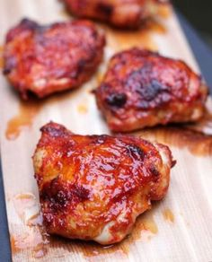 Spicy Garlic Chicke: Just as easy and much tastier than take out!