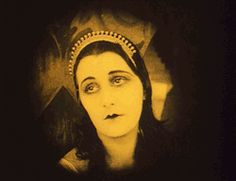 """nitratediva:  """" """"We queens are not free to answer the call of our heart…"""" Lil Dagover in The Cabinet of Dr. Caligari (1919).  """""""