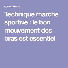 Technique marche sportive : le bon mouvement des bras est essentiel
