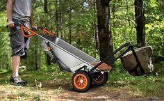 WG050 Worx AeroCart: 8-in-1 Wheelbarrow Multi-Function Garden Yard Cart