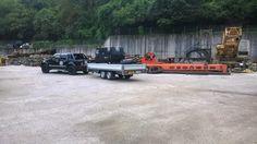 Ecco il D-Max Crew LS 3.0 L della BB Design Italia alle prese con il trasporto delle attrezzature per le sabbiature a Rovereto (TN) #isuzu #pickup #fuoristrada