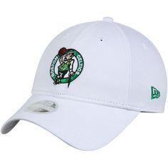 Women s New Era White Boston Celtics Preferred Pick 9TWENTY Adjustable Hat b6411c1373bd