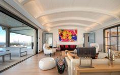 eklektische Wohnzimmer Einrichtung moderne Möbel