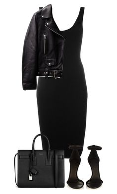 """""""Untitled #5539"""" by theeuropeancloset ❤ liked on Polyvore featuring Givenchy, Isabel Marant and Yves Saint Laurent"""