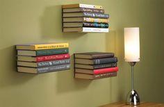 Estante invisible para libros