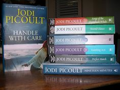 Any book by Jodi Picoult. Very easy reads that always teach me something.
