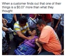 Handling this: | 25 Pictures That Sum Up Being A Cashier