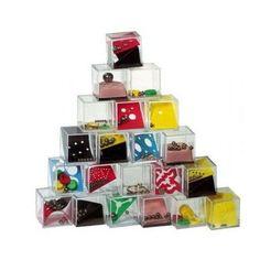 1,08€ - Cubos de ingenio! Regalos y detalles para invitados, juego de ingenio en cubo, detalles divertidos para dar a los niños en bodas, bautizos y cumpleaños, regalitos infantiles.