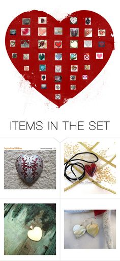 """""""Sweethearts"""" by boardartistry ❤ liked on Polyvore featuring art, sweethearts, epiconetsy, crazy4etsy and etsyevolution"""