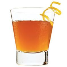 The Revolver Cocktail Recipe: A delicious mix of Bourbon and Coffee Liqueur with a hint of Orange. Perfect for a dinner party or after dinner drink.