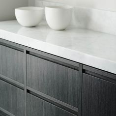 cabinet detail, groove. StyleAndMinimalism | Interiors | Bayside Residence by Robert Mills Architects & Interior Designers