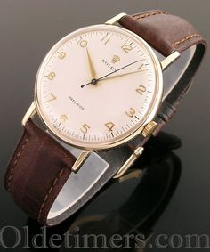 1956 9ct gold vintage Rolex Precision watch
