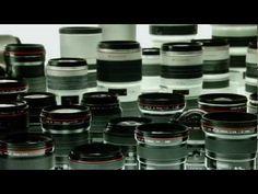 ¿Cómo se hacen los lentes y cámaras Canon?