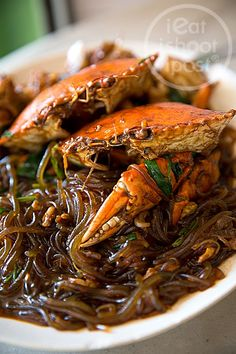 Crab with Korean Tang Hoon