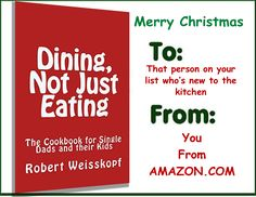 Great for that kid off to college with no meal plan and no cooking skills    Dining - Not Just Eating http://amzn.to/2hSyPbN