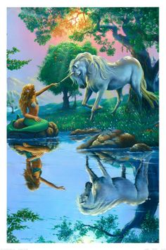 What's more awesome than a mermaid and a unicorn?  The answer is NOTHING.
