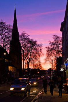 Pimlico Sunset, London, UK