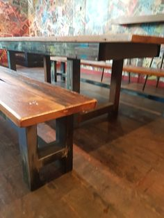 Decor, Rustic Dining, Table, Rustic Dining Table, Vintage Industrial Furniture, Furniture, Home Decor, Dining, Dining Table